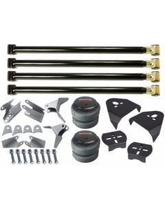 airmaxxx Triangulated Rear 4 Link Suspension Kit, 2500 Air Bags & Over Axle Bag Brackets
