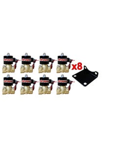 Eight AirMaxxx 3/8 Brass Air Valve