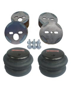 airmaxxx Air Ride Suspension Front 2600 Bags & Mounting Cups For 1988-98 Chevy Truck