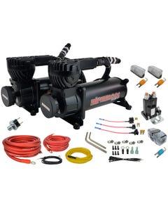 airmaxxx 580 black air compressor dual pack & wiring kit