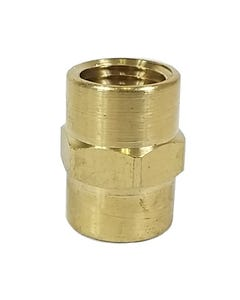 "Straight Male Thread Connector Air Hose Fitting 1/4"" Female NPT x 1/4"" Female NPT"