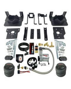 Air Bag Suspension Tow Kit White On Board Control For 2011-16 Ford F250 F350 2wd
