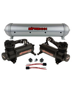 airmaxxx 480 Black Air Compressors & Brushed 5 Gallon Spun Aluminum Air Tank