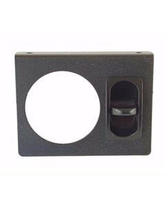 Single Air Ride Suspension Gauge Panel & Manual Paddle Valve Switch (no gauges)