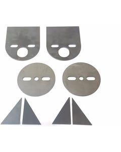 1958 - 1964 IMPALA FRONT BAG MOUNTING BRACKETS