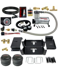 Air Level Helper Spring Kit With In Cab Control 1963-91 Chevy 3/4 & 1 Ton Trucks